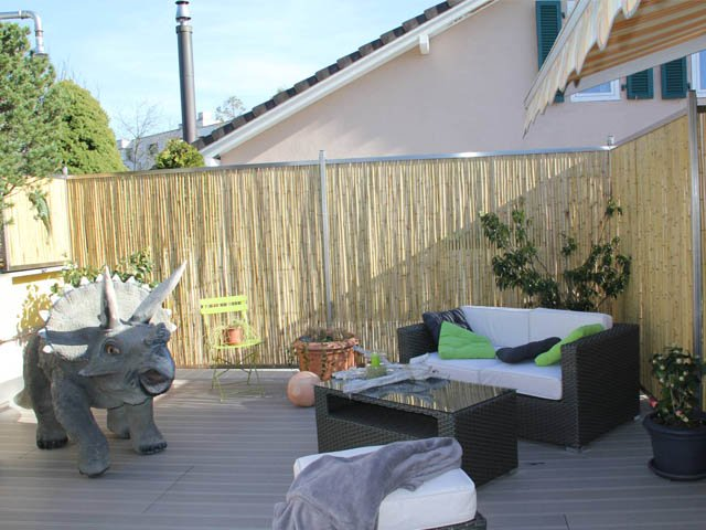 bambusmatte als sichtschutz f r dachterrasse ast mediaevent. Black Bedroom Furniture Sets. Home Design Ideas