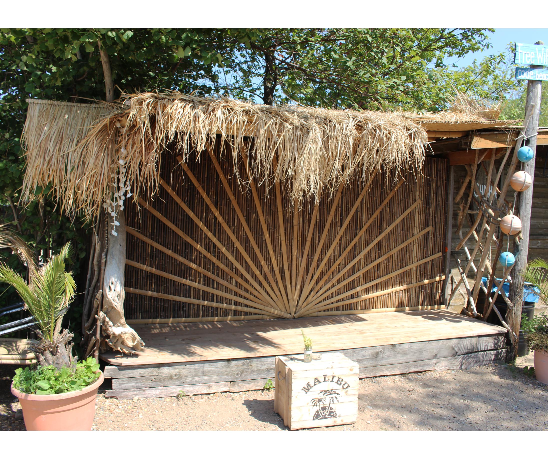 Bambus Konstruktion